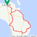 Map image of a Route from September  5, 2016