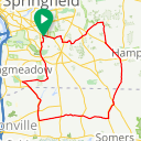 Map image of a Route from September 12, 2016