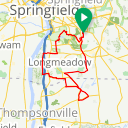 Map image of a Route from September 21, 2016