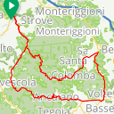 Map image of a Route from October  4, 2016