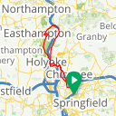 Map image of a Route from October 15, 2016