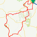 Map image of a Route from October 24, 2016