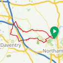 Map image of a Route from October 27, 2016