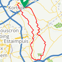 Map image of a Route from October 30, 2016