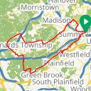Map image of a Route from September 22, 2012
