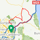 Map image of a Route from November  8, 2016