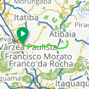 Map image of a Route from November 22, 2016