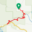 Map image of a Route from November 25, 2016