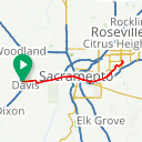 Map image of a Route from December 29, 2016