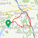 Map image of a Route from December 30, 2016