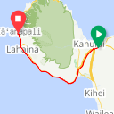 Map image of a Route from January  2, 2017