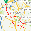 Map image of a Route from October 23, 2012