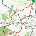 Map image of a Route from January  8, 2017
