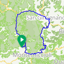 Map image of a Route from January 13, 2017