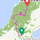 Map image of a Route from January 31, 2017