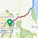 Map image of a Route from January 30, 2017