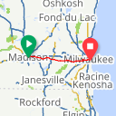Map image of a Route from February 15, 2017