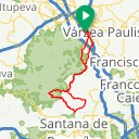 Map image of a Route from February 18, 2017