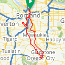 Map image of a Route from February 27, 2017