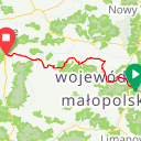 Map image of a Route from March  3, 2017