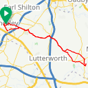 Map image of a Route from March 11, 2017