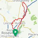 Map image of a Route from March 12, 2017