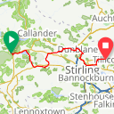 Map image of a Route from March 14, 2017