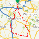 Map image of a Route from December  8, 2012