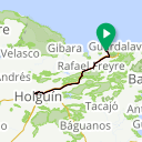 Map image of a Route from March 27, 2017