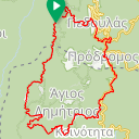 Map image of a Route from April 12, 2017