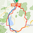 Map image of a Route from April 14, 2017