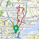 Map image of a Route from April 20, 2017