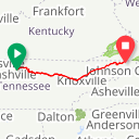 Map image of a Route from January  7, 2013
