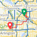 Map image of a Route from April 24, 2017