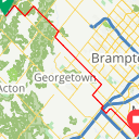 Map image of a Route from April 28, 2017