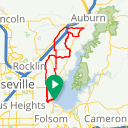 Map image of a Route from January 15, 2013