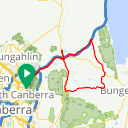 Map image of a Route from May  1, 2017