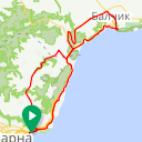 Map image of a Route from May  6, 2017