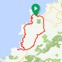 Map image of a Route from May  9, 2017