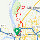 Map image of a Route from May 11, 2017