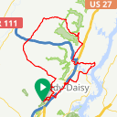 Map image of a Route from May 12, 2017