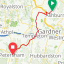 Map image of a Route from May 14, 2017