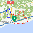 Map image of a Route from May 15, 2017