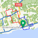 Map image of a Route from May 16, 2017