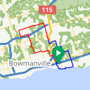 Map image of a Route from May 18, 2017