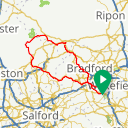 Map image of a Route from May 19, 2017