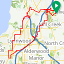Map image of a Route from May 20, 2017