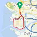 Map image of a Route from May 21, 2017