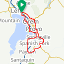 Map image of a Route from May 22, 2017