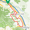 Map image of a Route from May 23, 2017